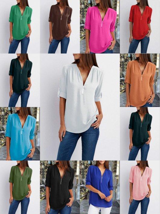 Zipper Casual Outerwear.jpg